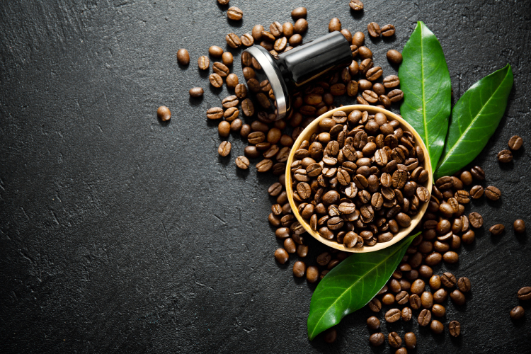 Arabica en robusta koffiebonen